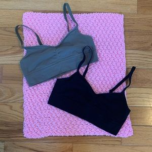 {Aerie} Two Bralettes